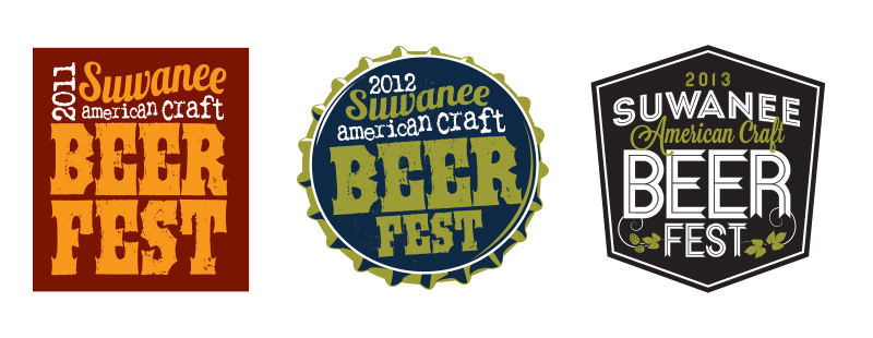 Veugeler Design Group -  Suwanee Beer Festival Logos