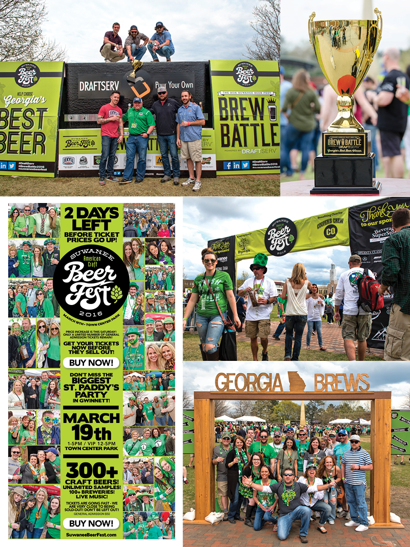 Veugeler Design Group -  Suwanee Beer Festival 2016 Marketing Materials