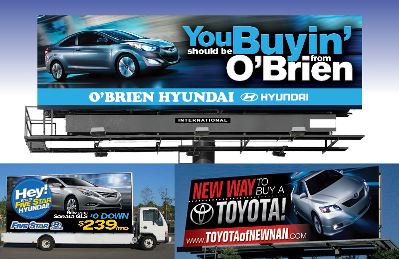 Veugeler Design Group - Automotive Billboard Design