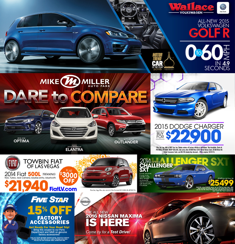 Veugeler Design Group - AUTOMOTIVE WEB BANNERS / RETARGETING ADS