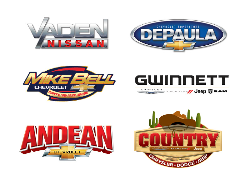 Veugeler Design Group - Automotive Dealership Logo Design