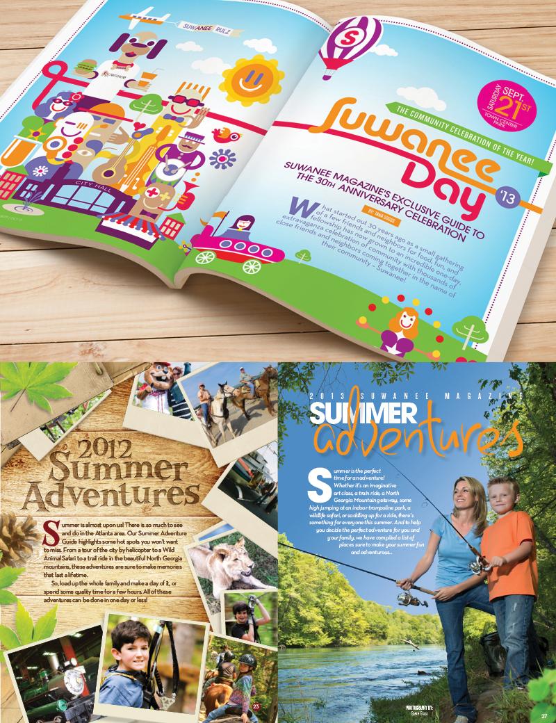 Veugeler Design Group - Publishers of Suwanee Magazine - Various Issues