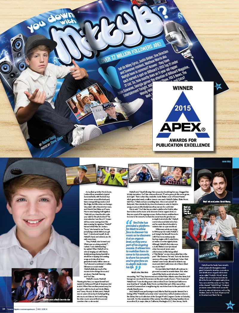 Veugeler Design Group - Publishers of Suwanee Magazine Issue: May-June / 2014