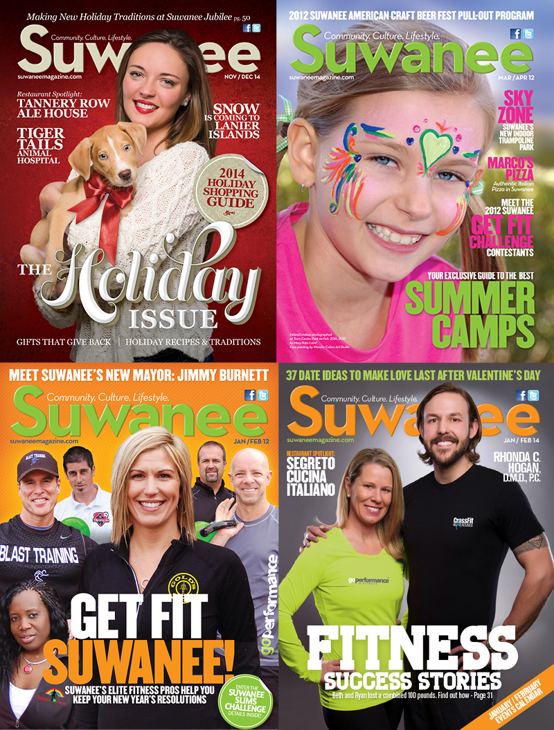 Veugeler Design Group - Publishers of Suwanee Magazine Various Issues