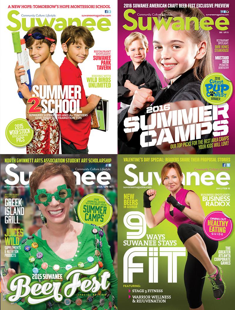 Veugeler Design Group - Publishers of Suwanee Magazine Various Issues