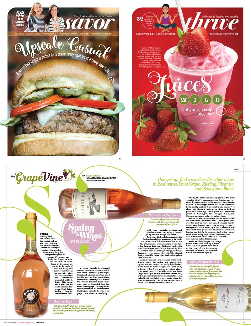 Veugeler Design Group - Publishers of Suwanee Magazine Issues