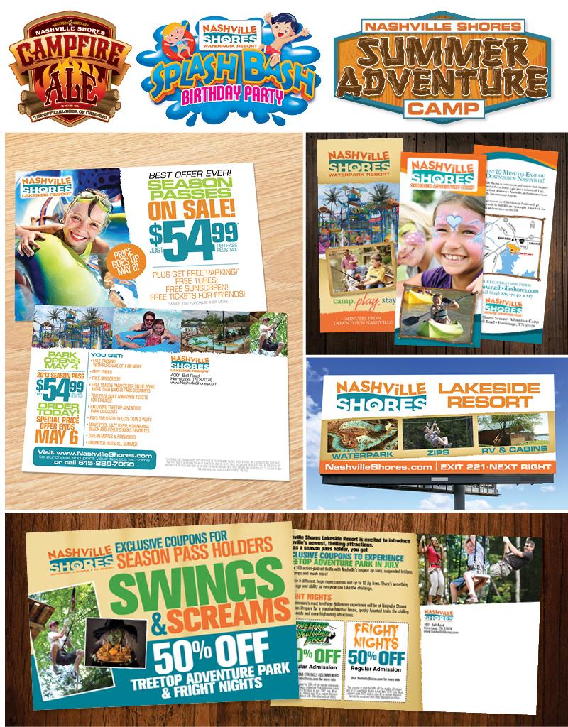 Veugeler Design Group - Nashville Shores - Print Design- Logo Design - Brochures - Annual Reports
