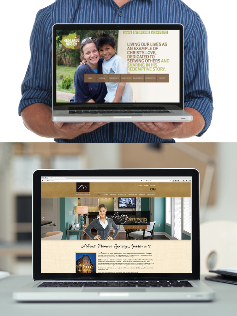 Veugeler Design Group  Website Design & Development - Highlands Misson, 755 Broad